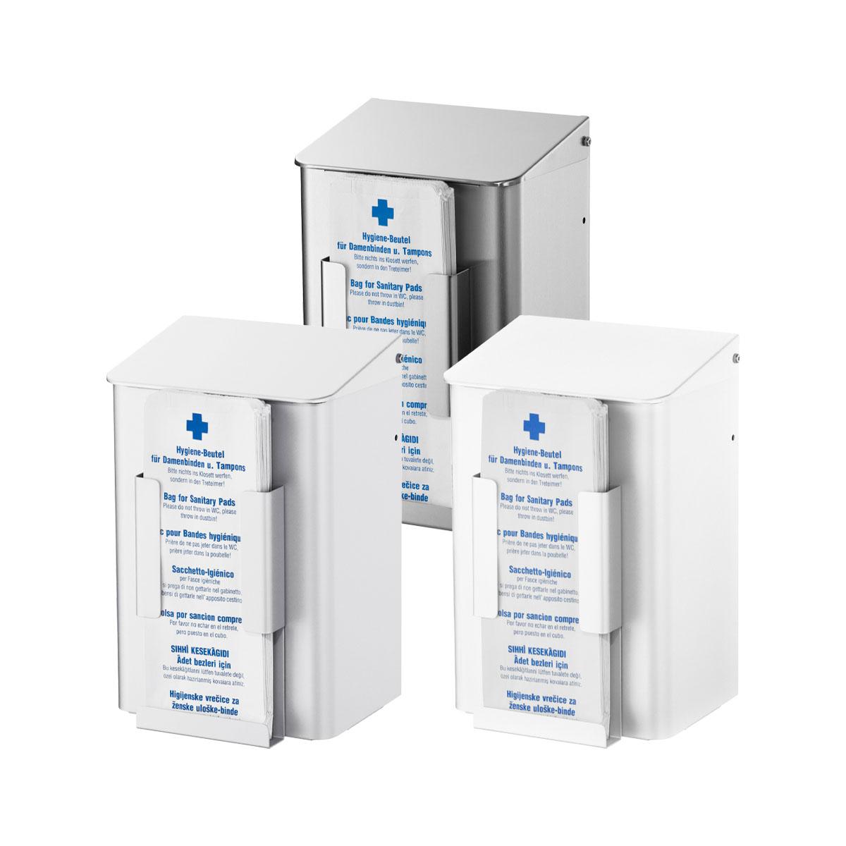 Hygieneabfallbehälter mit Beutelspender