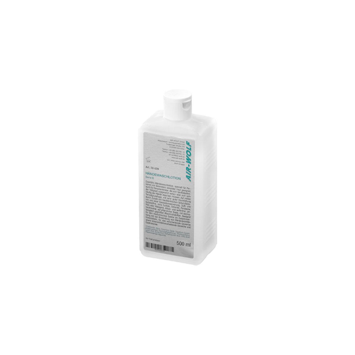 Händewaschlotion, halogen- und chloridfrei