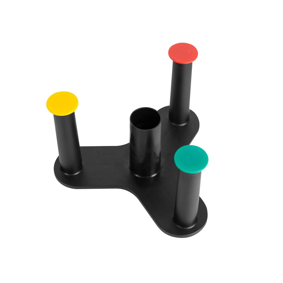 Drehkreuz für 3 Standard-Kleinrollen